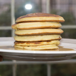 Pancakes senza burro. Facili, veloci e buonissimi.