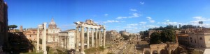 Roma veduta fori