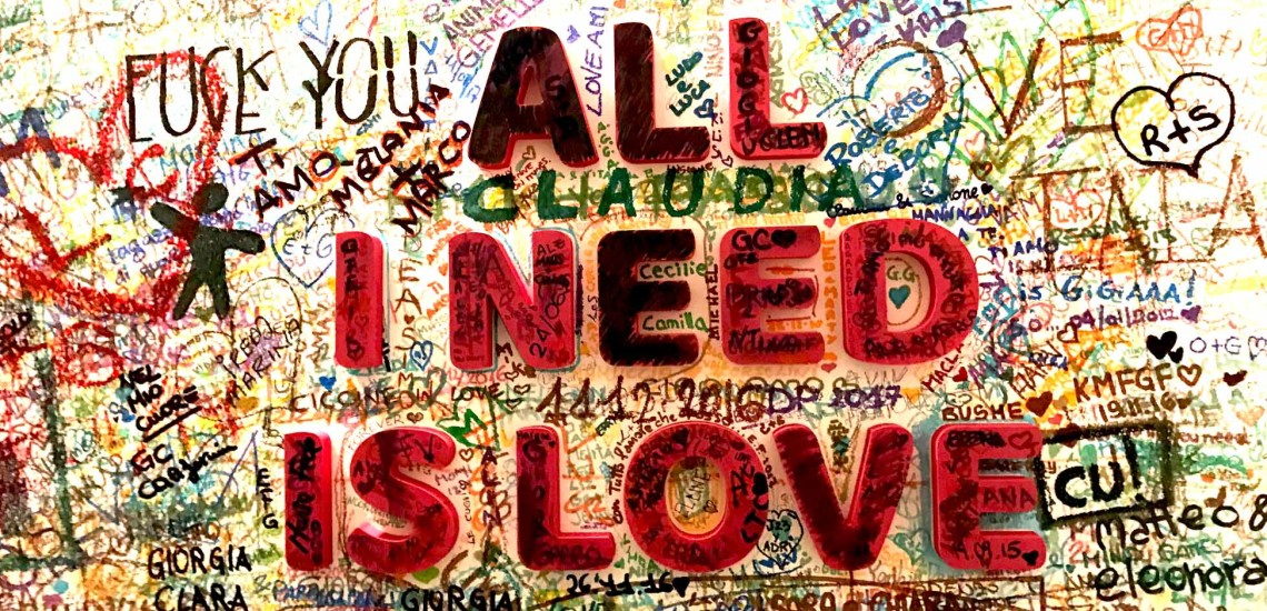 All I need is love2